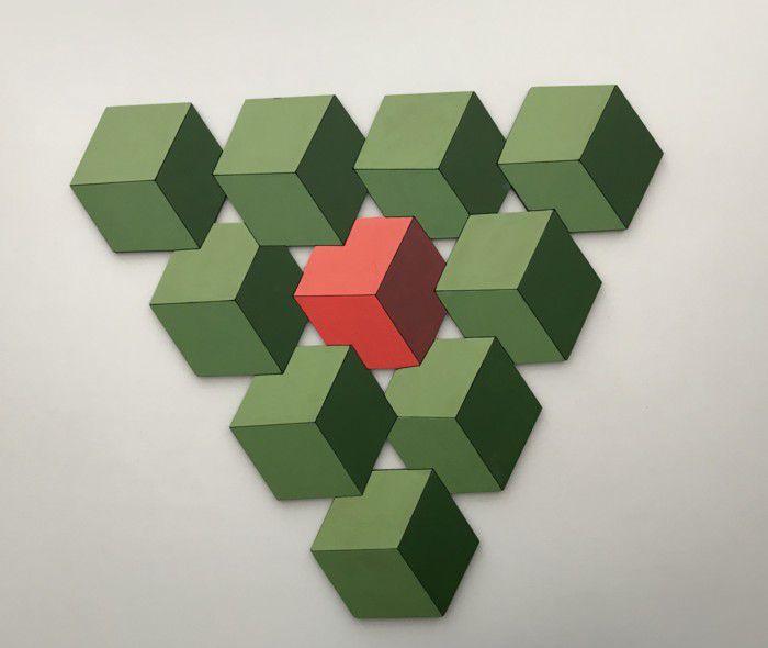 Gustavo Freiberg - Cubos triangulares II