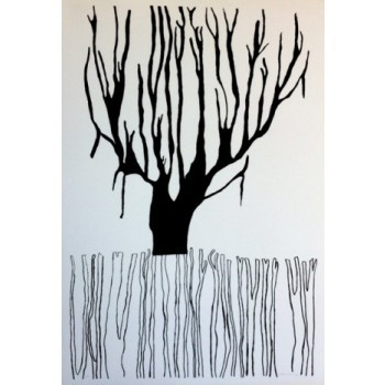 Helena Lopes - Árvore preta e branca