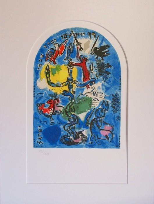 Marc Chagall - Window Ascher