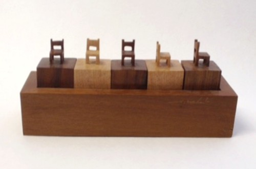 sergio machado - Bloco com 5 cadeirinhas