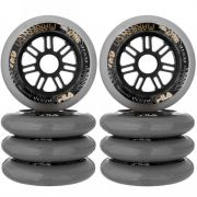 Kit de Rodas Fila 100mm/84A (8un)