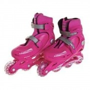 Patins Bel Radical Rollers Pink