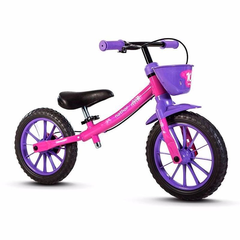 Bicicleta Nathor Balance Bike Girl