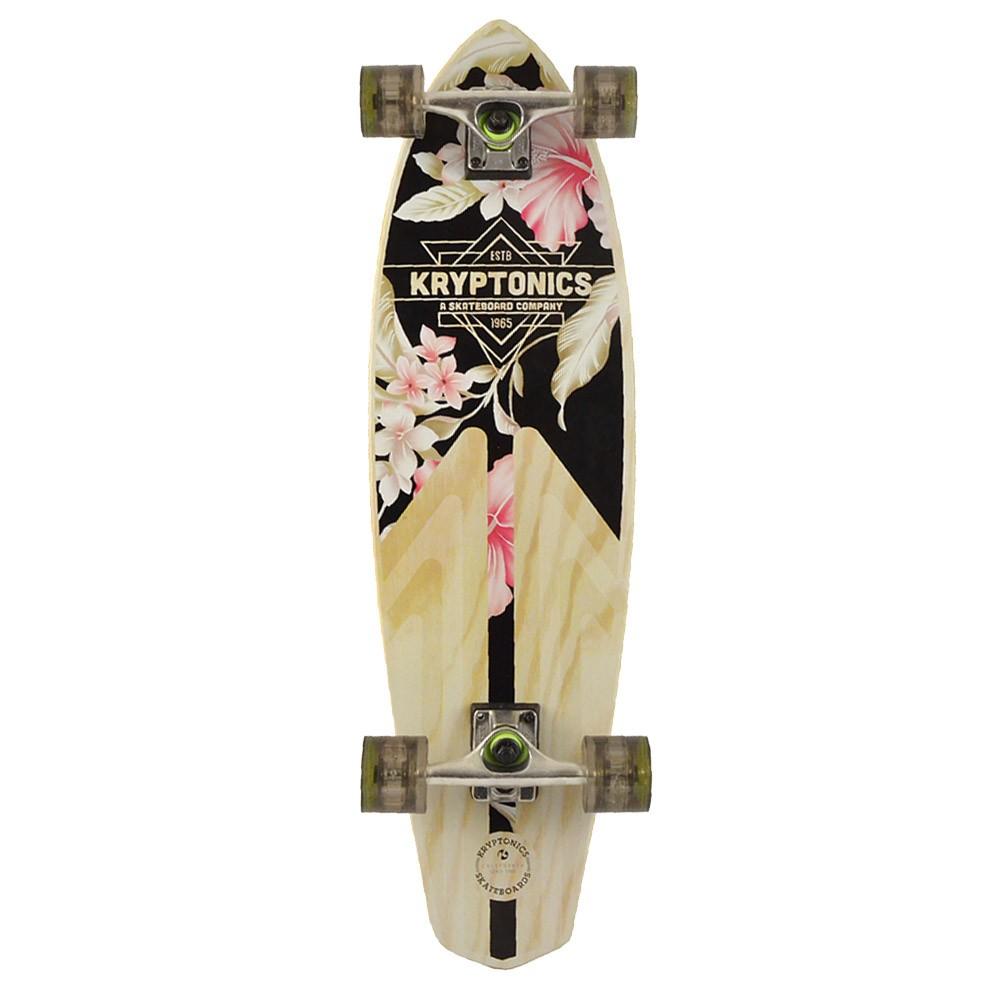 Mini Longboard Kryptonics Classic Floral 32