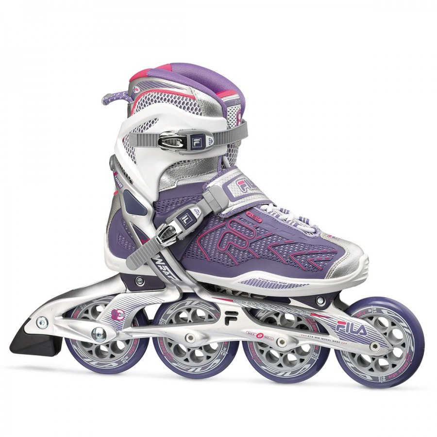 Patins Fila Plume X-Wrap Lady 90mm/83A