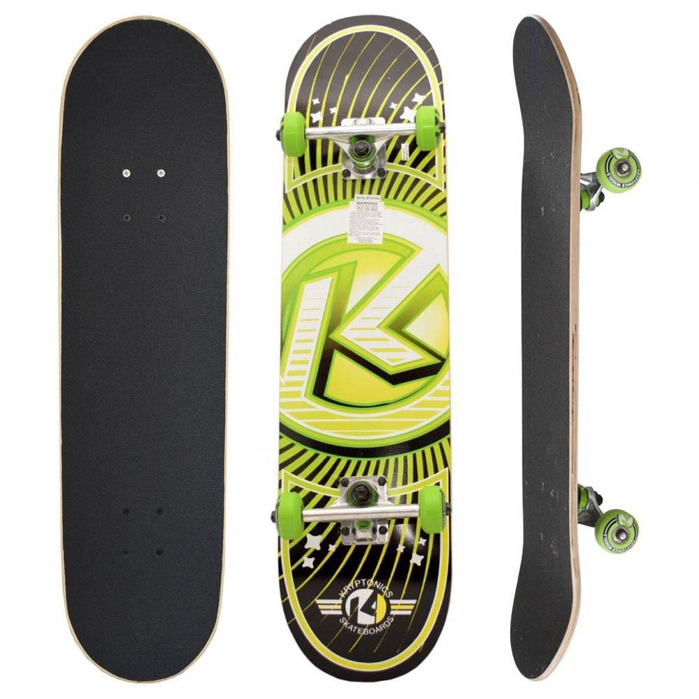 Skate Completo Kryptonics K Green
