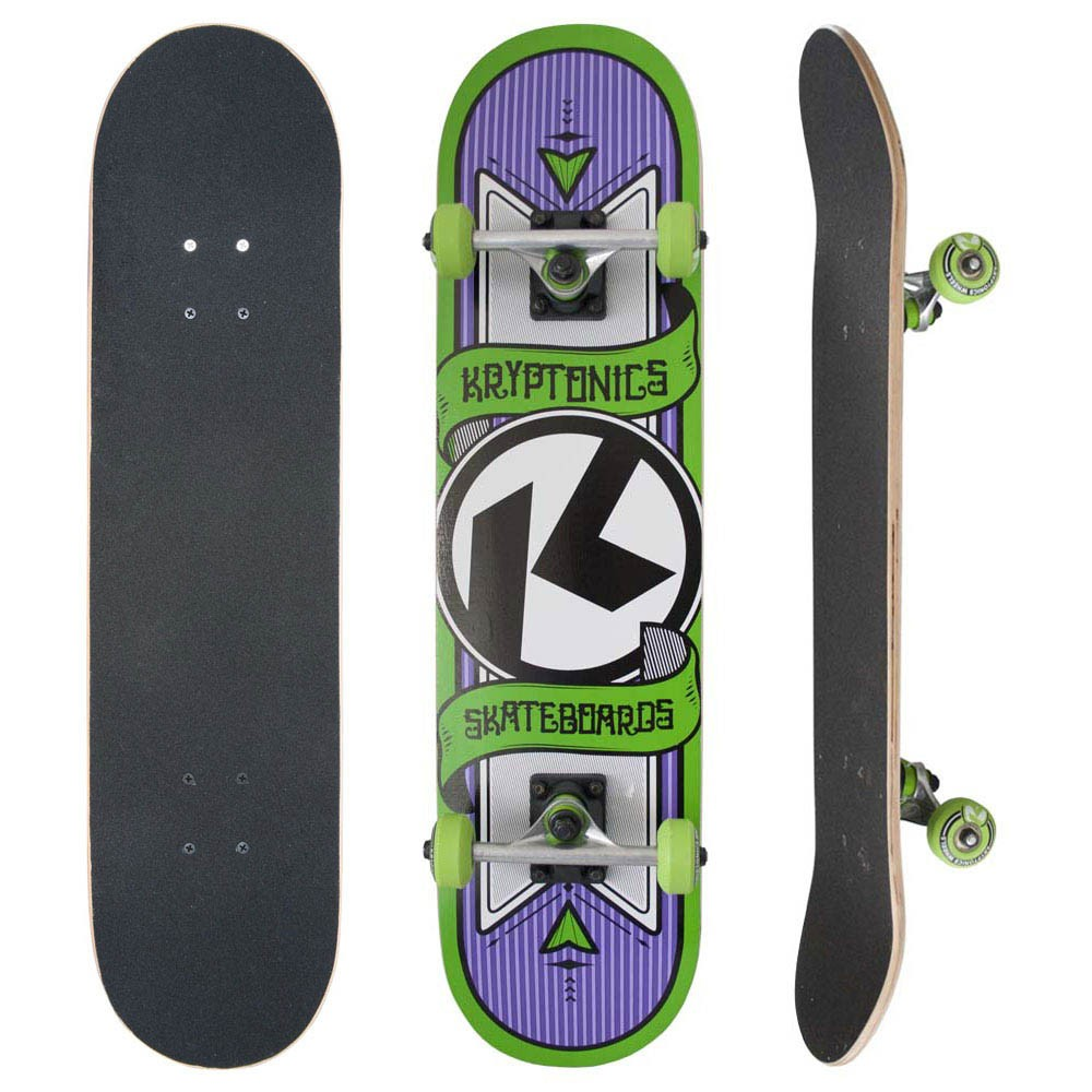 Skate Completo Kryptonics Pinstripe Maple 9 Camadas