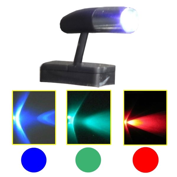 Mini Spot Alto Brilho Led Neon Carro Moto Pedaleira Som Painel