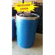 Bombona Reciclada C/ Tampa Removível - 200L