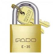 Cadeado de Latão - 35mm - PADO