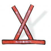 Colete Refletivo Laranja - Tipo X