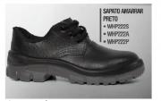 Sapato de Segurança Amarrar - Pé de Ferro