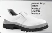 Sapato de Segurança Elástico Branco - Pé de Ferro
