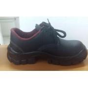 Sapato de Segurança em couro preto