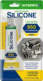 Adesivo Vedante Silicone Interfix 950  - MCZ FORTES