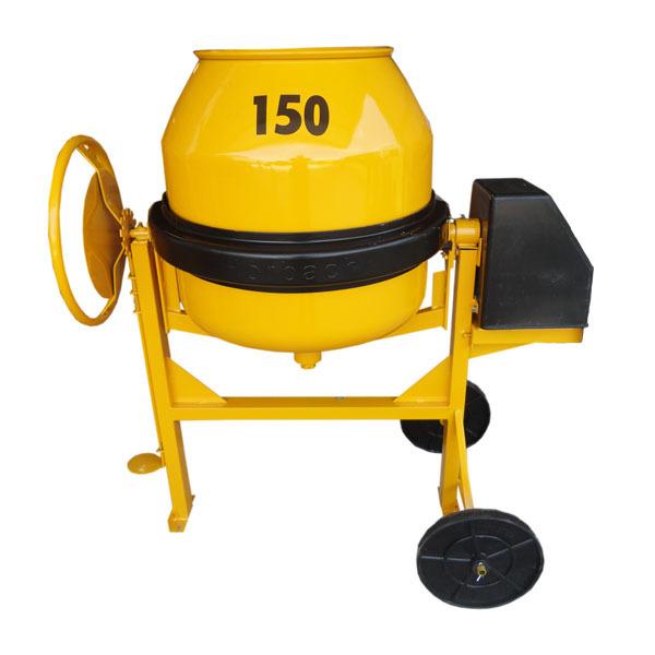 Betoneira 150 litros c/ cremalheira com motor - Horbach   - MCZ FORTES