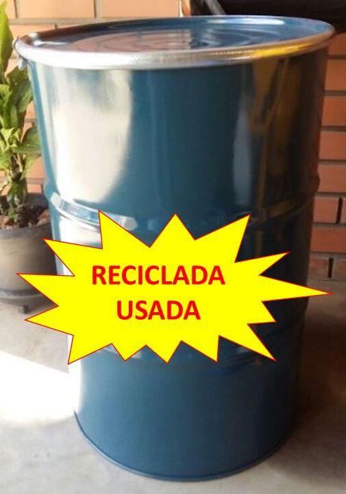 Bombona Reciclada Tambor Latão - 200L