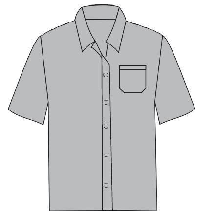 Camisas Sociais - Manga Curta  - MCZ FORTES