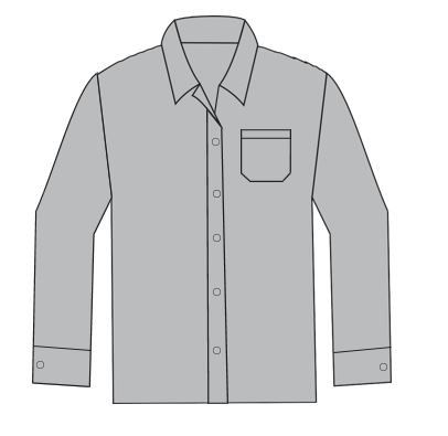 Camisas Sociais - Manga Longa  - MCZ FORTES