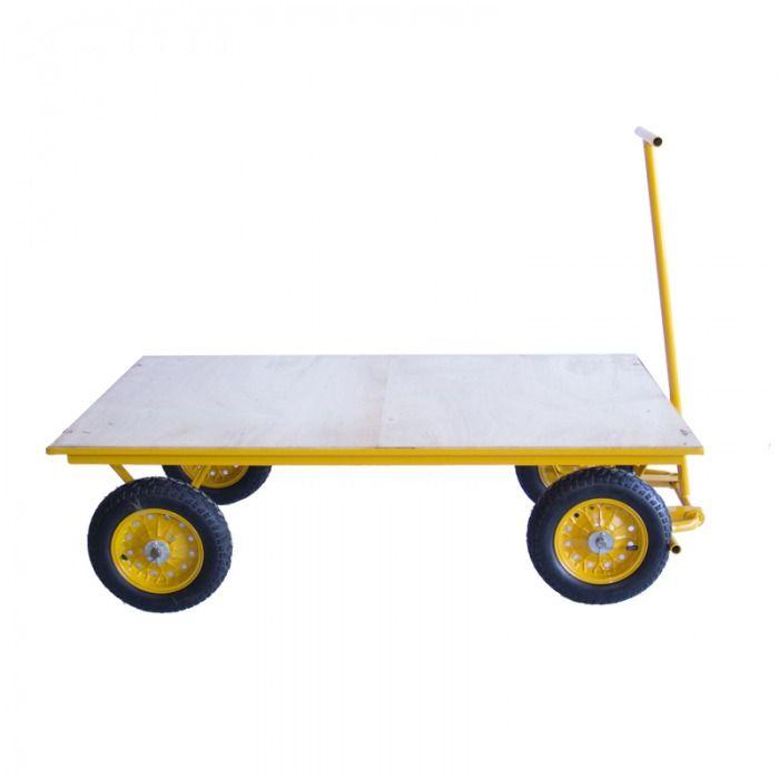 Carrinho Plataforma 600 kg - Horbach   - MCZ FORTES