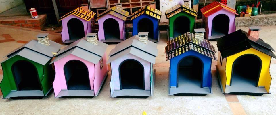 Casinha de Cachorro Artesanal - Porte Pequeno  - MCZ FORTES