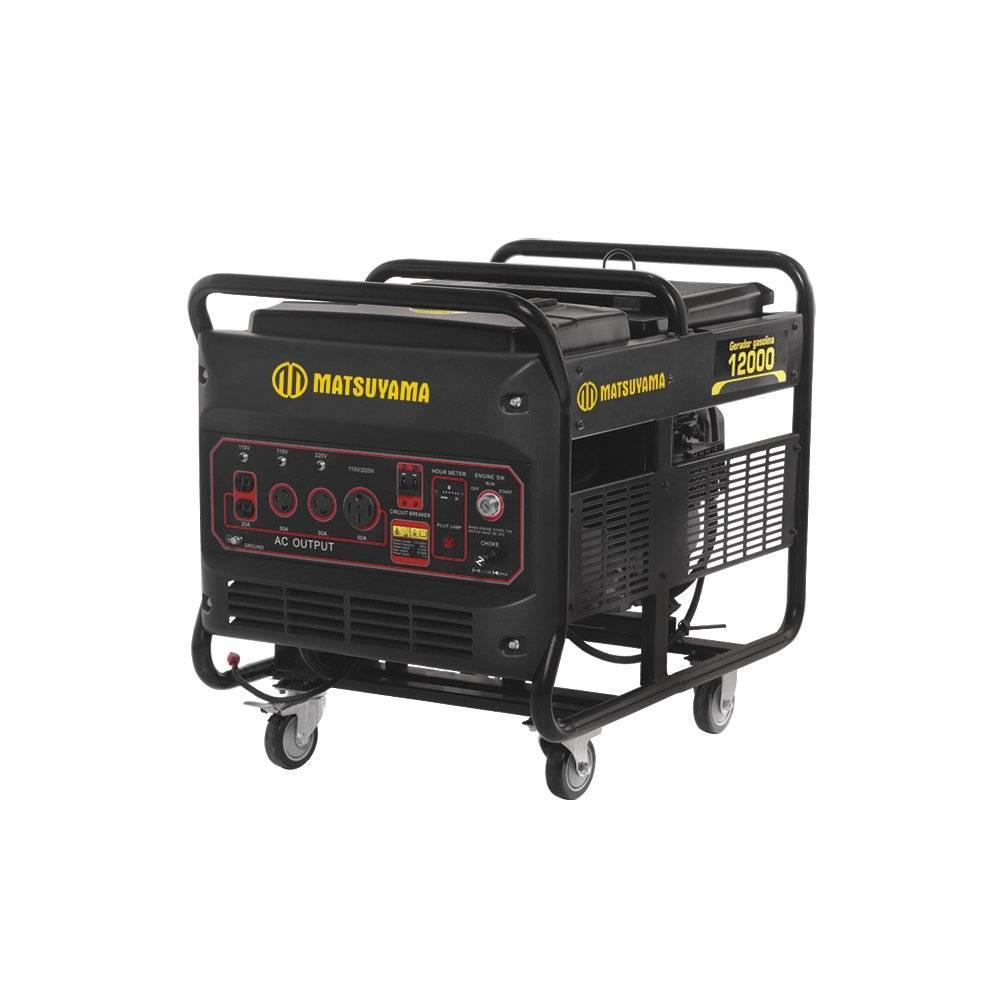 Gerador de Energia 12000 - Gasolina 4 Tempos Matsuyama