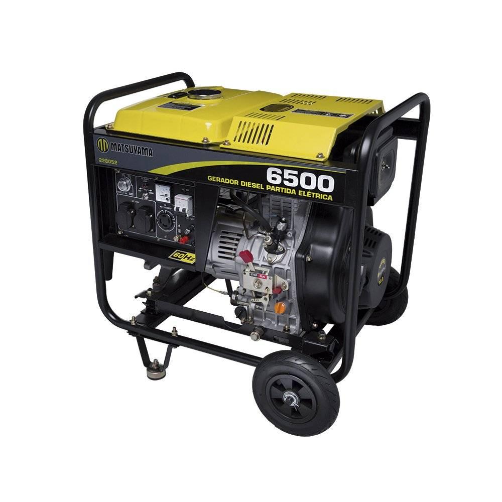 Gerador de Energia 6500 - Diesel Matsuyama