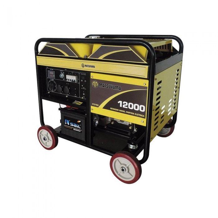 Gerador de Energia 12000 - Diesel Matsuyama  - MCZ FORTES