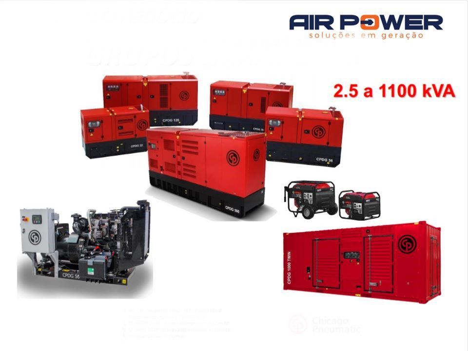 Geradores de Energia - Air Power   - MCZ FORTES