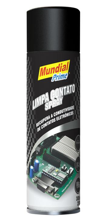 Limpa Contato Spray Mundial Prime 300ml  - MCZ FORTES