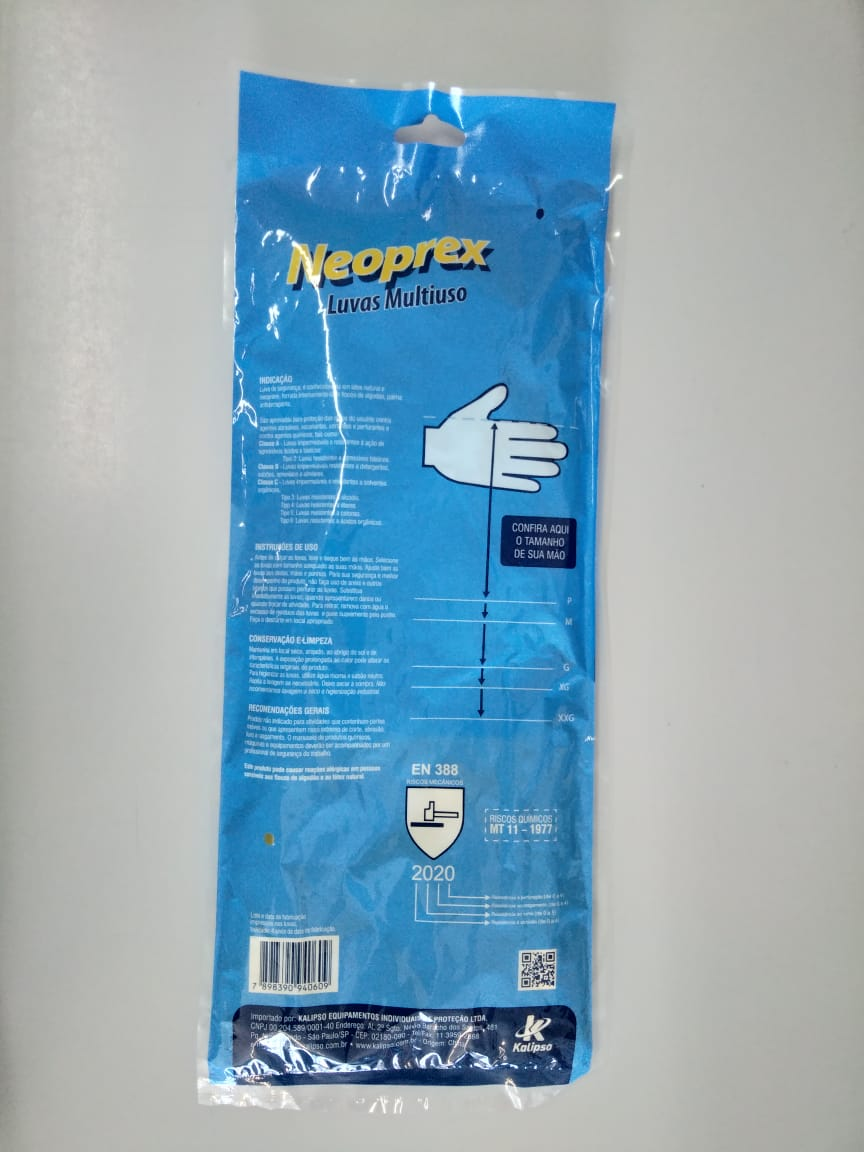 Luva Latex Neoprex - Kalipso