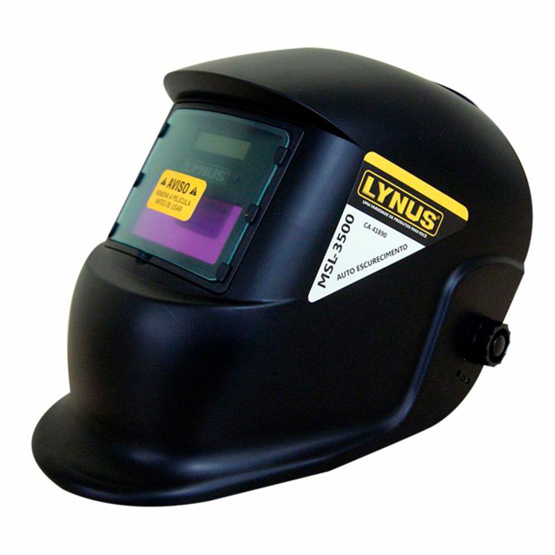 Máscara De Solda MSL-3500 - Lynus