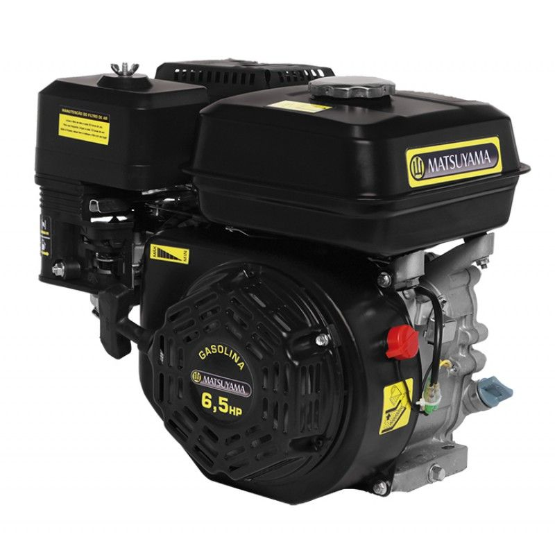 Motor Horizontal Gasolina 6.5 HP - 4 T - Matsuyama