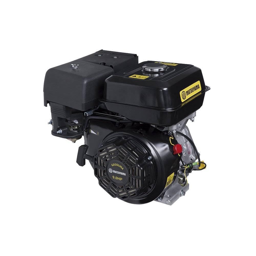 Motor Horizontal Gasolina 9 HP / 4 t -Matsuyama  - MCZ FORTES