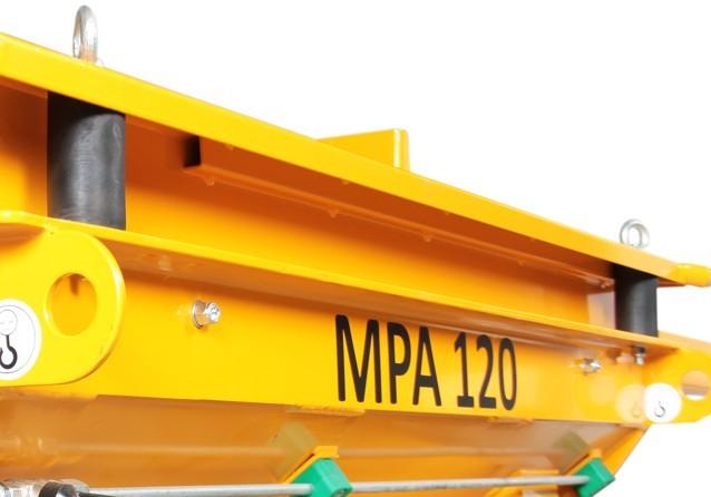 Projetor de Argamassa MPA 120L Trifásico - Menegotti  - MCZ FORTES