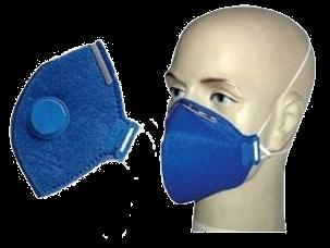 Respirador Descartável com e sem válvula Epi