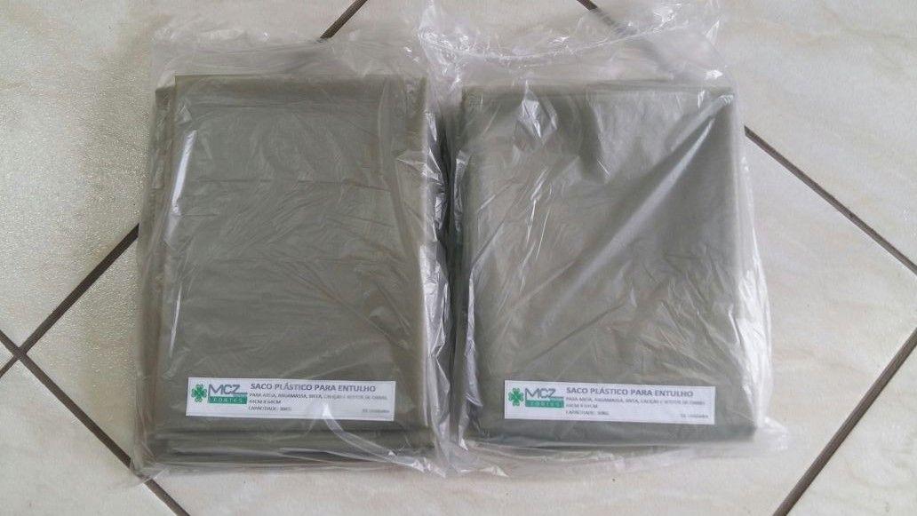 Saco plástico para Entulho (10 unidades)  - MCZ FORTES