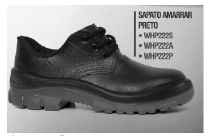Sapato de Segurança Amarrar - Pé de Ferro  - MCZ FORTES