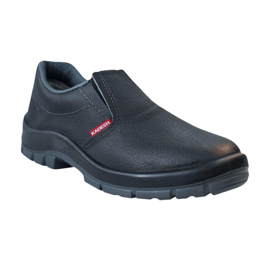 Sapato Elástico Flex Biqueira PVC - Kadesh