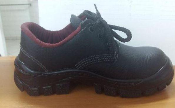 Sapato de Segurança em couro preto  - MCZ FORTES