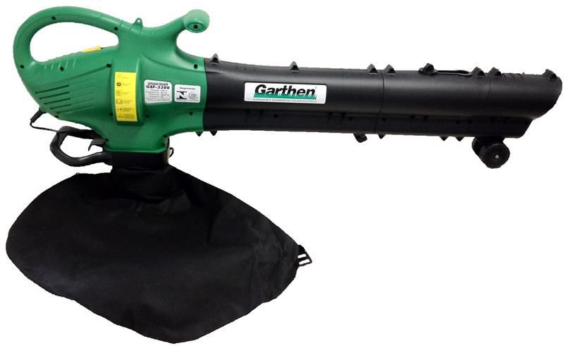 SOPRADOR/ASPIRADOR ELETRICO GSF-3300 3000W 220V GARTHEN  - MCZ FORTES