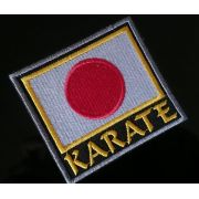 PATH BORDADO  KARATE BANDEIRA JAPAO