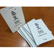Livro: Sensei  A Jornada Espiritual + 1 Mini Kimoninho chaveiro Karate Kid