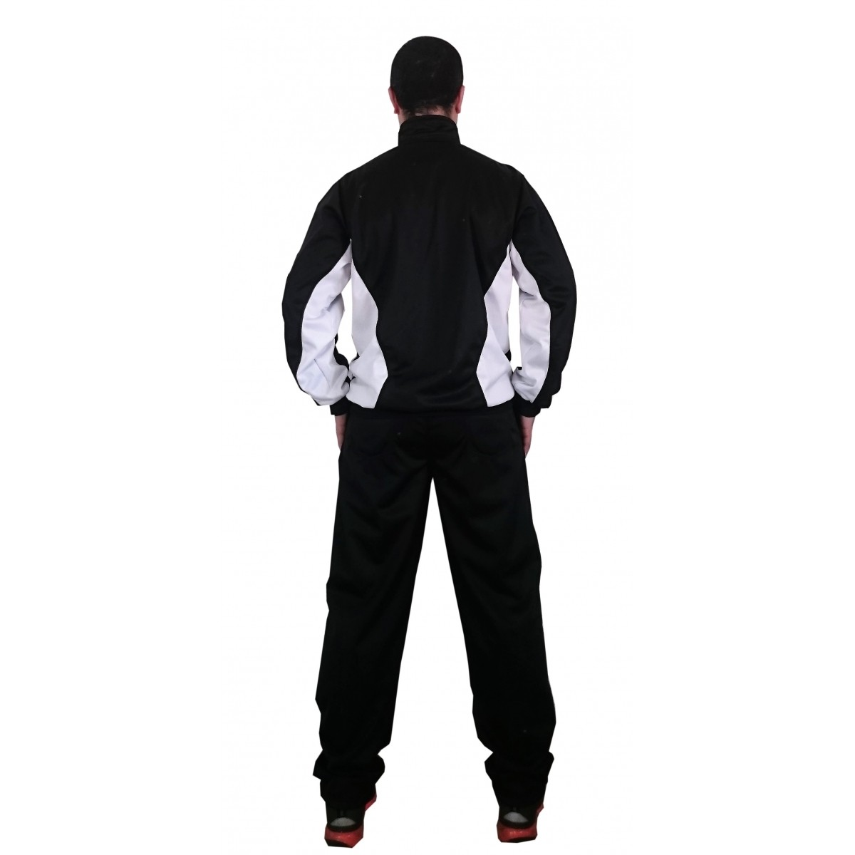Agasalho Evolution Preto/Branco  Martial Arts Shodo
