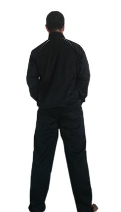 Agasalho Karate estilos Azul c/friso branco Martial Arts Shodo