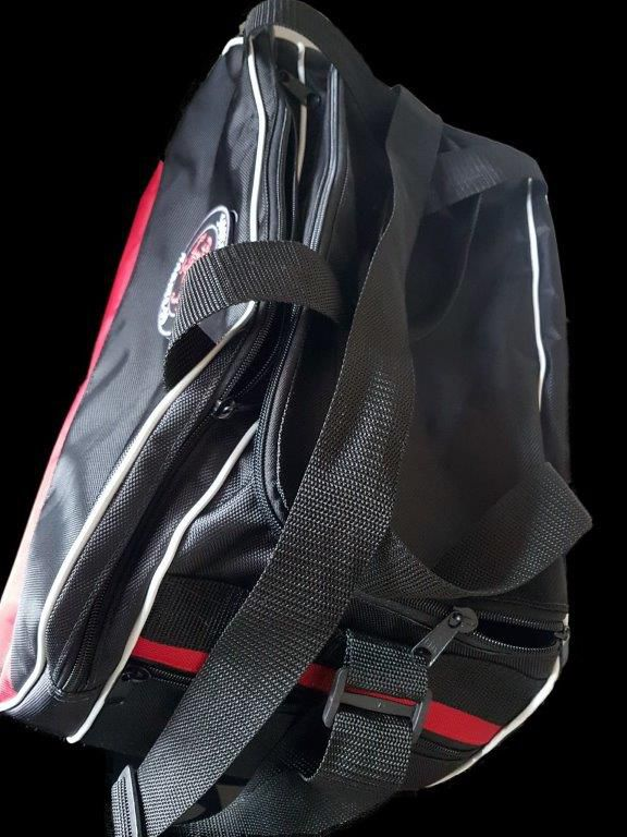 Bolsa Evolution Karate Shotokan Preta /Vermelha