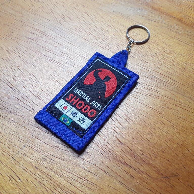 Chaveiro Mini Faixa Martial Arts Shodo varias cores