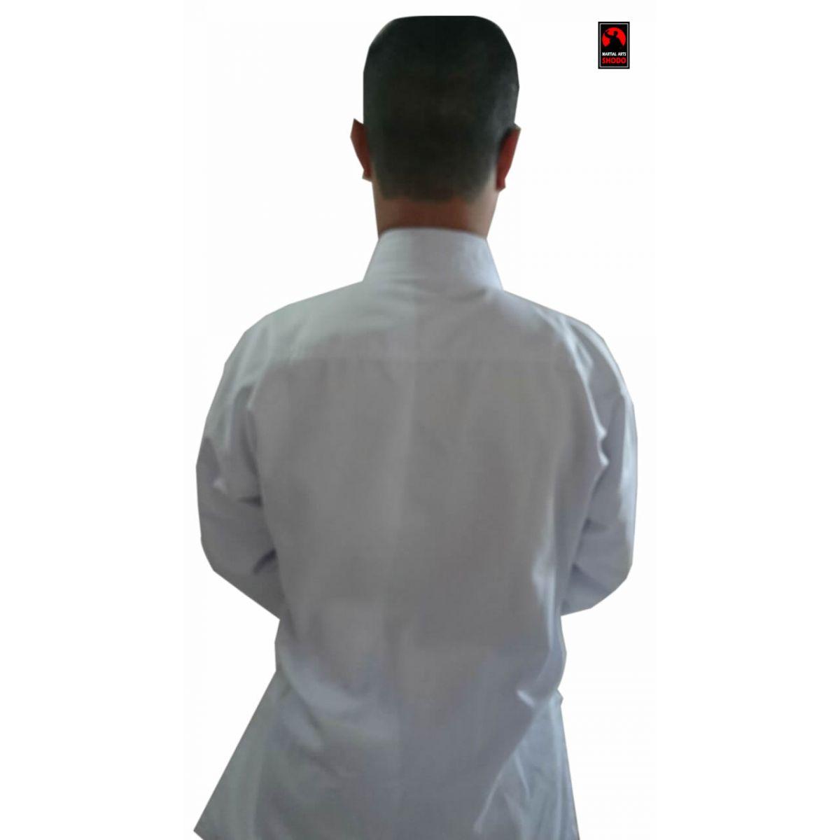 Kimono Aikido/Krav Maga Infantil Standard  + Faixa branca iniciante