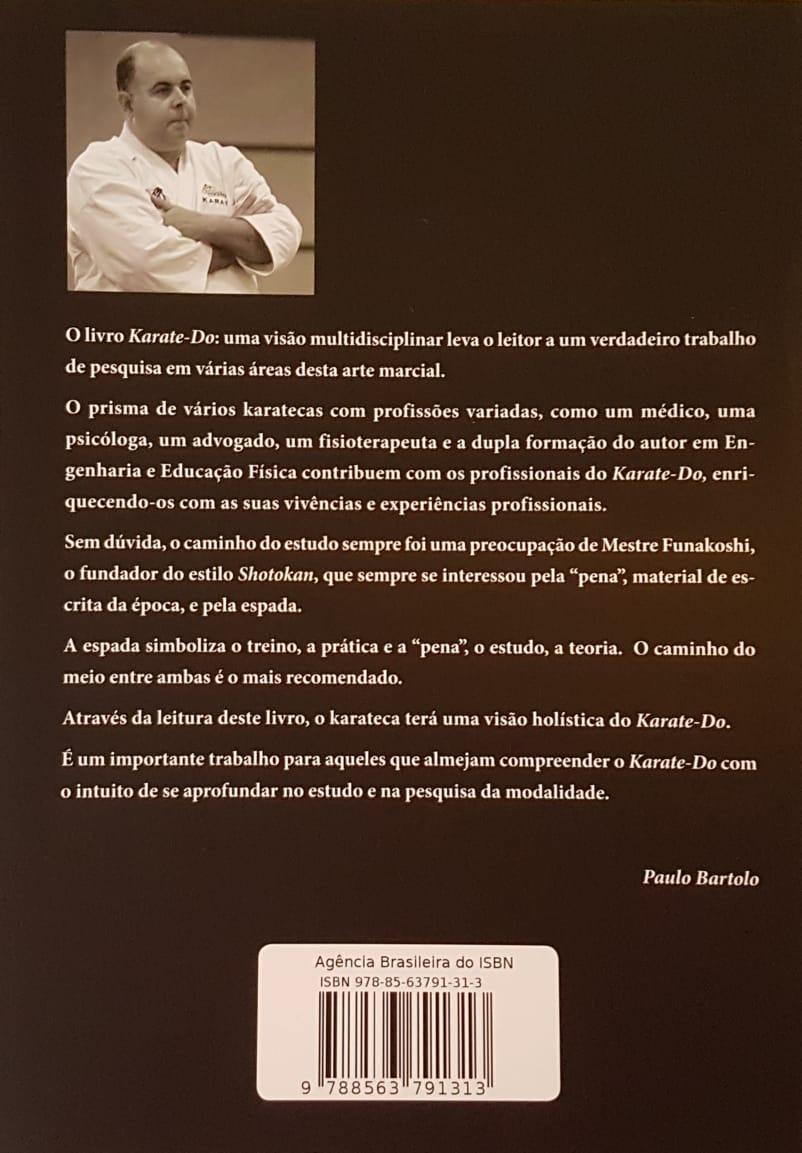 Livro Karate Uma Visão Multidisciplinar - Paulo Bartolo