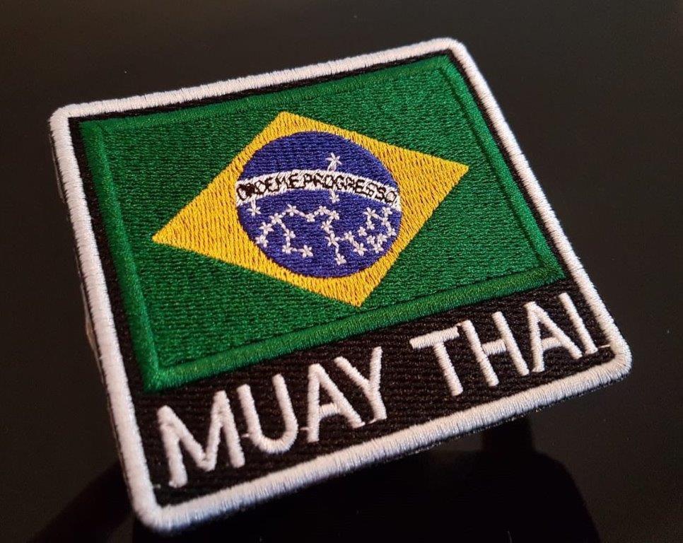 PATH BORDADO  BRASIL MUAY THAI
